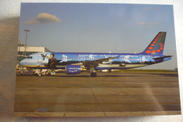 BRUSSELS AIRLINES   A 320 214  OO SNC - 1946-....: Moderne