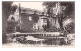 59 Lallaing Ancien Chateau Des Comtes De Lallaing Edit Baron , Carte Non Voyagée - France