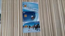 Set 3 Cards Zwitserland Used Rare - Schweiz
