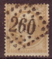 FRANCE - 1862 - YT N°21 -  Napoleon III - Losange Grands Chiffres - 1862 Napoleon III