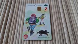 Letland  Phonecard Used Rare - Latvia