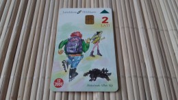Letland  Phonecard Used Rare