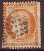 FRANCE - 1870 - YT N°38 - Céres - Mauvais Découpage Aux Ciseaux - 1870 Siege Of Paris