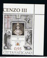 2016 - VATICAN - VATICANO - VATIKAN - D22G - MNH SET OF 1 STAMP  ** - Vatican