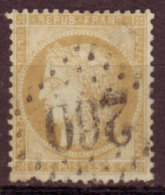 FRANCE - 1873 - YT N°55 - Céres -  Losange GC 260 - 1871-1875 Ceres