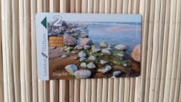 Phonecard Letland  Used  Rare