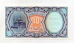 Egitto -  Banconota Da 10 Piastre - Nuova -  (FDC1510) - Egipto