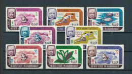 1966 Hadhrmaut/Saoedi-Arabië Complete Set Mixed Issue Mint Hinged/Ongebruikt Met Plakker/Neuf Avec Charniere - Saoedi-Arabië
