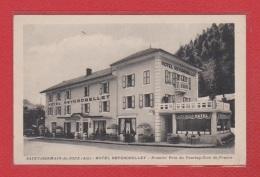 Saint Germain De Joux --  Hotel Reygrobellet - Francia