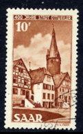 SAAR 1950  1950 400th Anniversary Of Ottweiler, Used.  Michel 296 - 1947-56 Protectorate