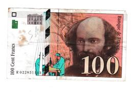 Cezanne 100 Frs - 1992-2000 Dernière Gamme
