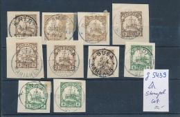 Kolonial Stempel  Nettes Lot  -unterschiedlich  (g5439   ) Siehe Scan - Deutschland