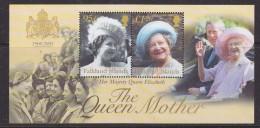 Falkland Islands 2002 Queen Mother M/s ** Mnh (33487) - Falkland Islands