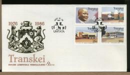 TRANSKEI - FDC - PALAZZI MONUMENTI  -  ANNIVERSARIO INDIPENDENZA - Transkei