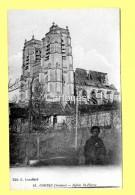CPA 80 CORBIE (ar. Amiens) Eglise Saint Pierre (animée) N°43 - Corbie