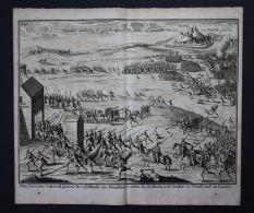 Namur Schlacht Battle Bataille Kupferstich Engraving - Prints & Engravings
