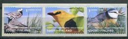 180 FINLANDE 2001 - Yvert 1548/50 Adhésif - Oiseau - Neuf ** (MNH) Sans Trace De Charniere - Finland