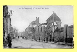 CPA 80 CORBIE (ar. Amiens) Hôpital Et Rue Hersent (animée) N°51 - Corbie