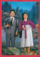 "218037 / North Korea  ""The Song Of Paradise"" OPERA , DANCE , MAN CAMERA , WOMAN FLOWERS - Opera"