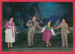 218038 / Korea, North / Coree Du Nord /  OPERA , DANCE , MAN CAMERA , WOMEN FLOWERS - Opera