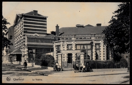 CHARLEROI - LE THEATRE - RARE ! ANIMEE - Nels Nr. 38 - Charleroi