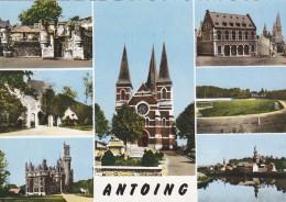 CPSM - ANTOING - Multivues -  éditeur Maison O Van Wijmersch - Antoing