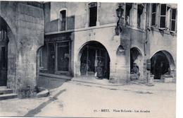 Cpa Metz  Place St Louis -les Arcades - Autres Communes