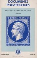 Documents Philateliques - Numero 136 - Voir Sommaire - Littérature