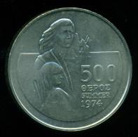 Cyprus / Greece, 500 Mils 1974 , Commemorative , Condition UNC - Chypre