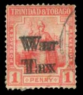 BC-TRINIDAD. 1d War Tax Doble Overprint Forgery Type. Ref Item.. FALSOS. FAKES. FORGERIES - Unclassified