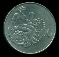 Cyprus / Greece, 500 Mils 1977 , Commemorative , Condition UNC - Chypre