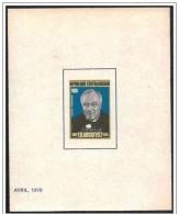 Centraficana/Central African/Centrafricaine: Prova, Proof, Epreuve, F.D. Roosevelt - Célébrités