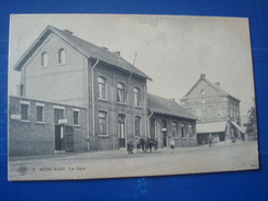 MONTAIGU : La Gare  En 1909 - Scherpenheuvel-Zichem