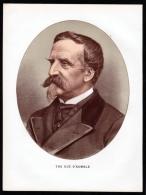 Henri D?Orléans Duc D?Aumale (1822-1897) General Historiker Kunstsammler - Lithographie Portrait - Stiche & Gravuren