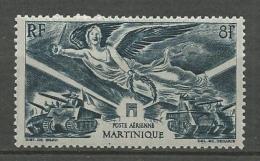 MARTIIQUE PA N° 6 NEUF*  LEGERE TRACE DE CHARNIERE / MH - Poste Aérienne