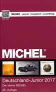Deutschland MlCHEL Junior Briefmarken Katalog 2017 Neu 10€ D DR 3.Reich Danzig Saar Berlin SBZ DDR BRD 978-3-95402- - Münzen & Banknoten