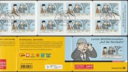 Allemagne 2011 Y&T C2665 Michel MH83. Carnet Bande Dessinée, Par Loriot. Oblitération Illustrée 1er Jour Hippodrome - Comics
