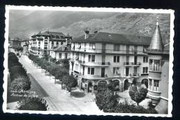 MARTIGNY  - Avenue De La Gare . Affranchie En 1955 SUISSE .3408 - VS Valais