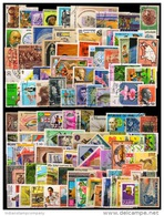 World Wide 100 Different Large Stamps From 100 Different Countries & States-Mostly Used - Vrac (max 999 Timbres)