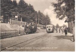 CAMIGLIATELLO SILANO ( COSENZA ) STAZIONE FERROVIARIA - EDIZ. SCORNAIENGHI -1950 - Cosenza