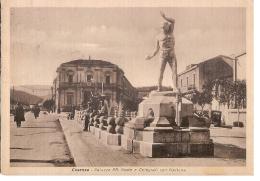 COSENZA - PALAZZO RR POSTE E TELEGRAFI CON FONTANA - EDIZ. BOPERFI 1939 - Cosenza