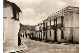 FOIANO VALFORTORE ( BENEVENTO ) VIA ROMA - EDIZ. SERVODIO - 1964 - Benevento