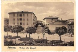 ORBETELLO ( GROSSETO ) VEDUTA VIA GIOBERTI - EDIZ. DALLE NOGARE E ARMETTI 1942 - Grosseto