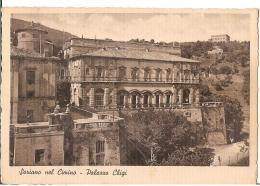 SORIANO NEL CIMINO ( VITERBO ) PALAZZO CHIGI - EDIZ. M. FONTANA FIORE - 1942 - Viterbo