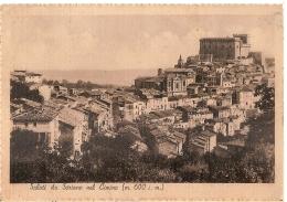 SORIANO NEL CIMINO ( VITERBO ) PANORAMA - EDIZ. PANDIMIGLIO - 1942 - Viterbo
