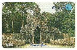 Cambogia - Tessera Telefonica Da 3 Dollars T153 - CAMINTEL - Cambodia
