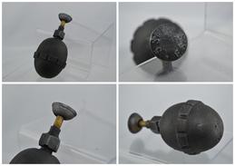 Reproduction De Grenade Défensive Type Oeuf - Eierhandgranate Mdl 1917 Allumeur à Pression - Militaria