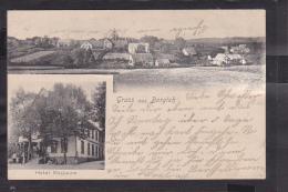 A7x /   Borgloh Hotel Masbaum  B. Hilder , Melle Osnabrück 1903 - Allemagne