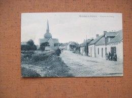 Carte Postale Ancienne De Moisdon-la-Rivière: L'Entrée Du Bourg- Café De La Gare - Moisdon La Riviere