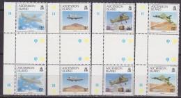 Ascension Island 1992 Liberation Of The Falkland Islands 4v  Gutter ** Mnh (33498) - Ascension